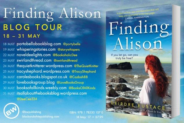 Finding Alison blog tour