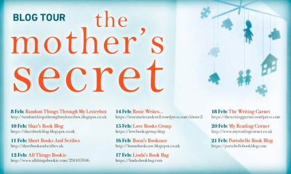 The Mother's Secret Blog Tour Feb 2018
