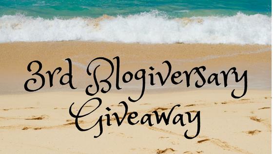 3rd BlogiversaryGiveaway
