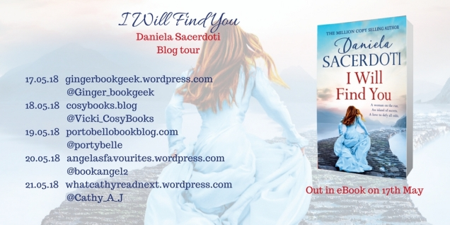 I Will Find You Blog Tour Poster
