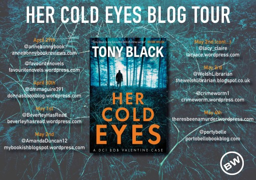 Her Cold Eyes blog tour banner