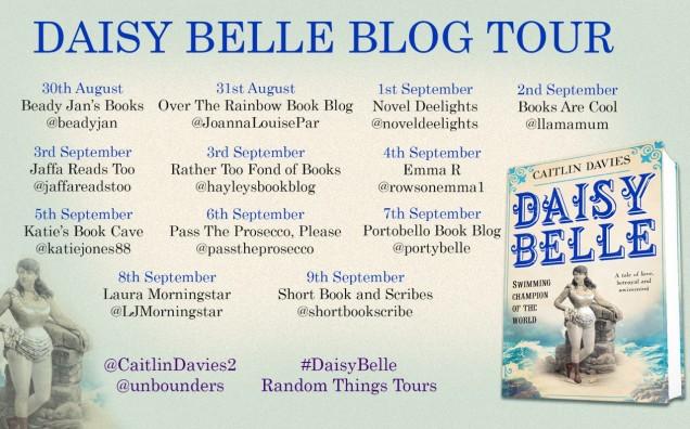 Daisy Belle Blog Tour Poster