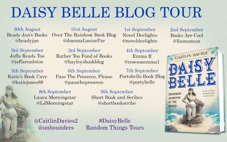 Daisy Belle Blog Tour Poster