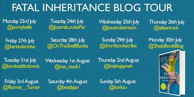 FINAL Fatal Inheritance Blog Tour poster