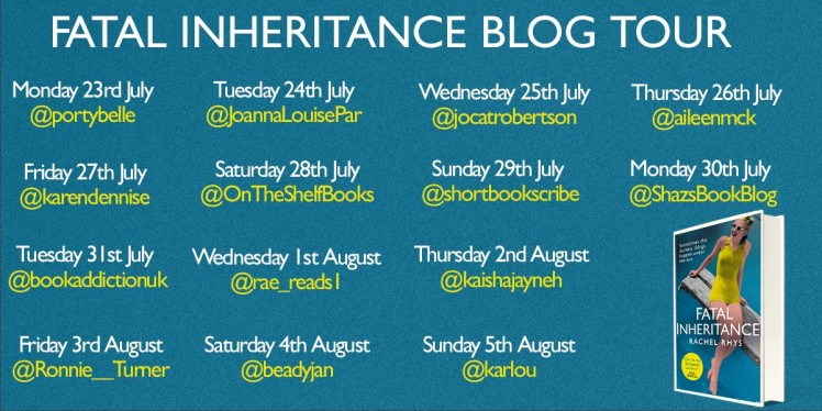 FINAL Fatal Inheritance Blog Tour poster
