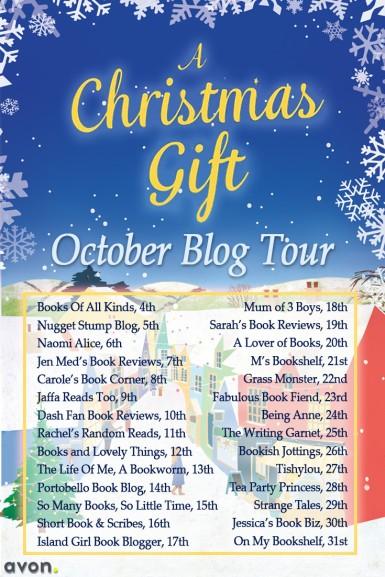 A Christmas Gift Blog Tour - Oct