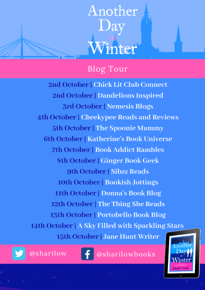 Another Day in Winter blog tour poster