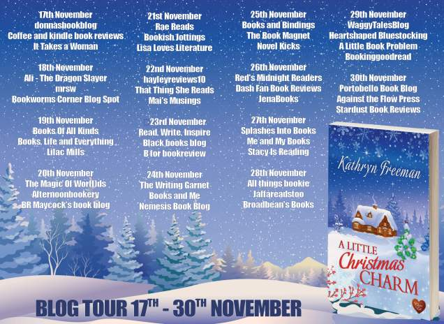 A Little Christmas Charm Full Tour Banner