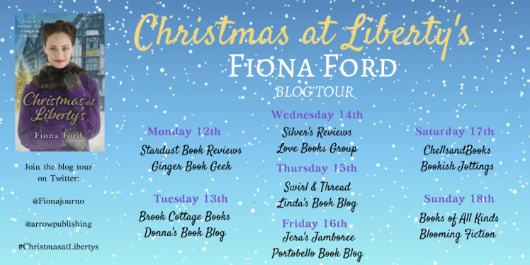 Christmas at Liberty's Blog Tour Banner