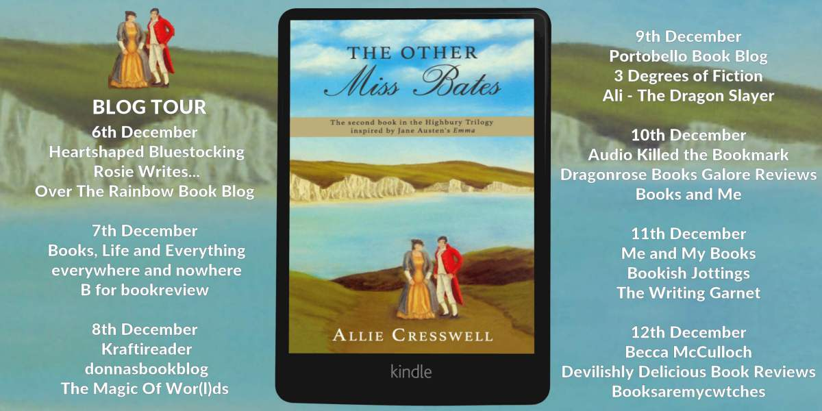 The Other Miss Bates by Allie Cresswell #review @alliescribbler